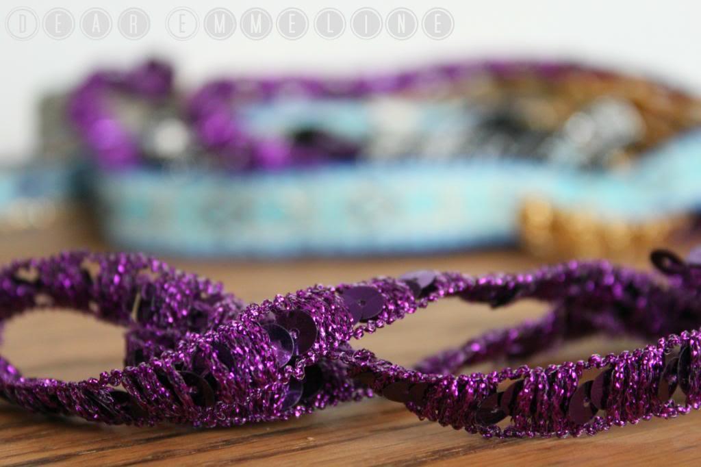 how to make simple ribbon headband