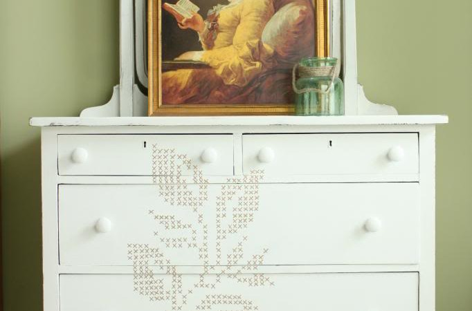 Cross Stitch Dresser