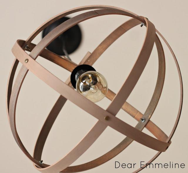 DIY Easy Embroidery Hoop Pendant