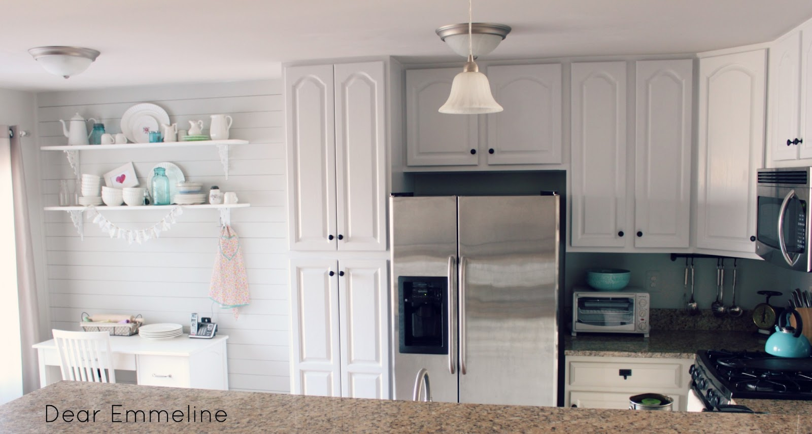 Kitchen Redo Part Four Painted Kitchen Cabinet Reveal