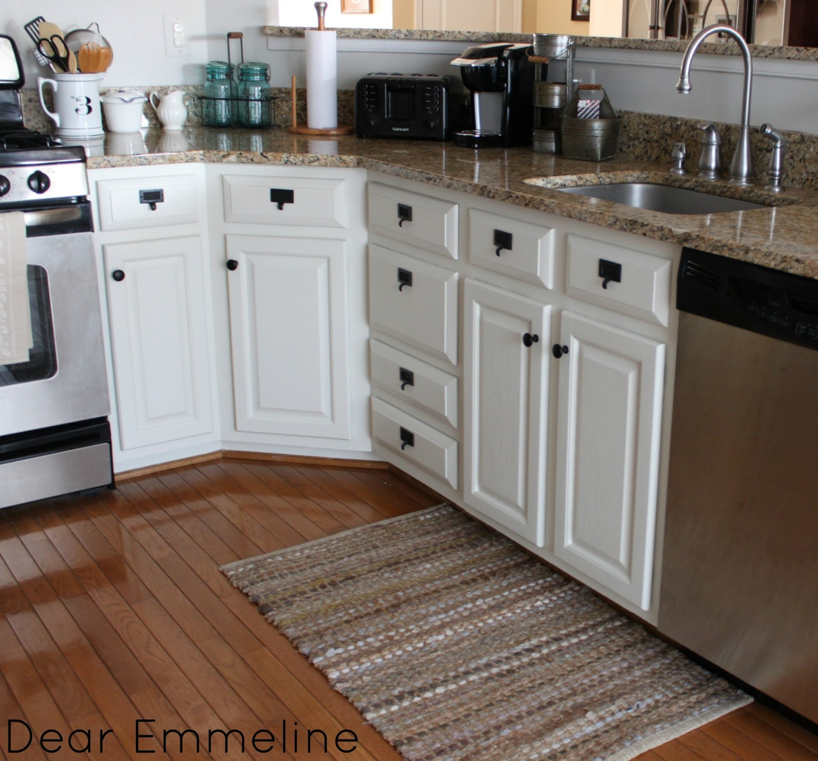 Kitchen Cabinets: Kitchen Redo: Part Four {Painted Kitchen Cabinet Reveal}