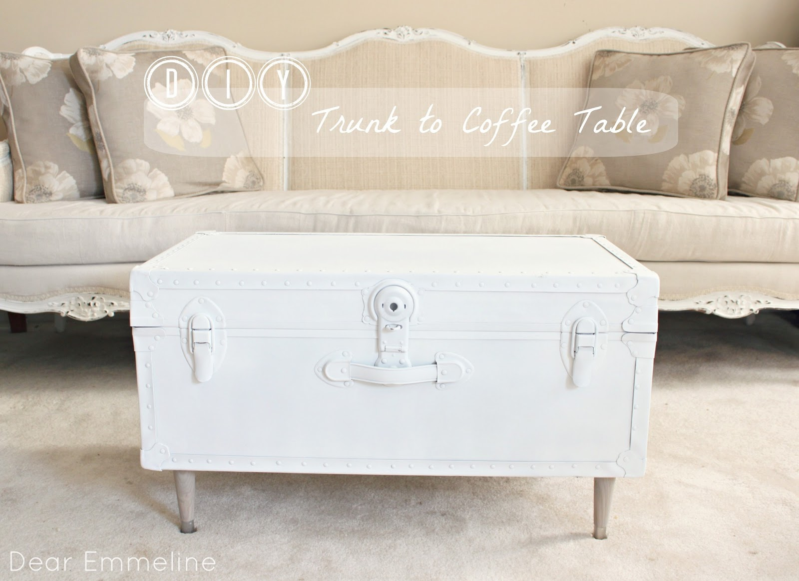 Diy trunk to coffee table geotapseo Image collections