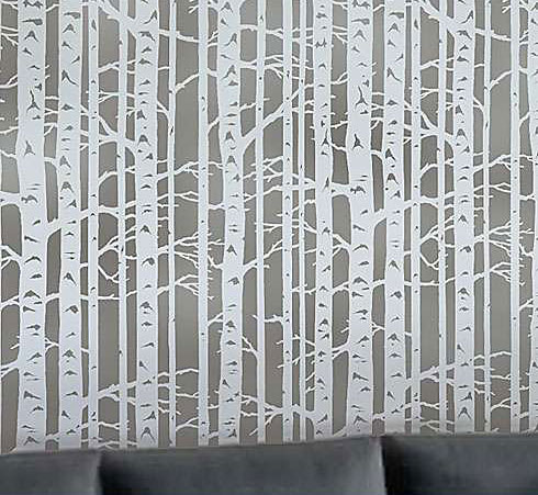 wallpaper-stencil-birch-forest