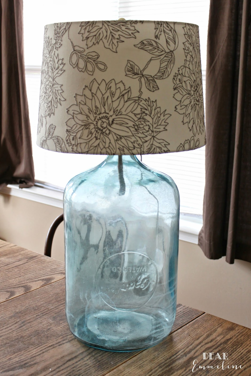 Diy Lamp From Antique Water Bottle Without Compromising