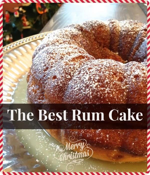 December 14: The Best Rum Cake