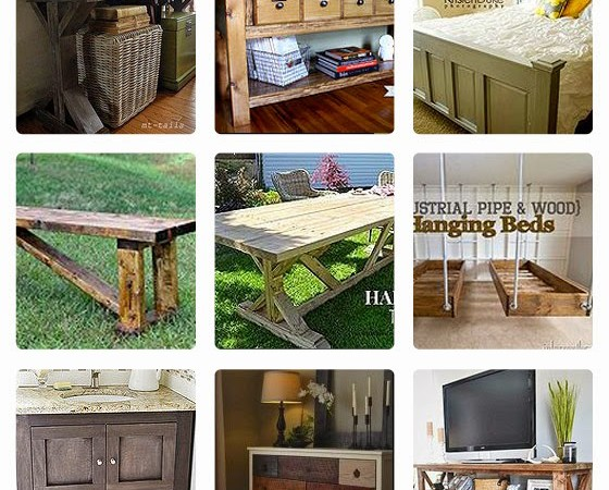 20 Inspiring Handmade Furniture Projects