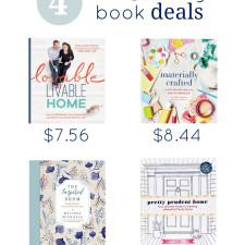 4 DIY & Design Book Deals