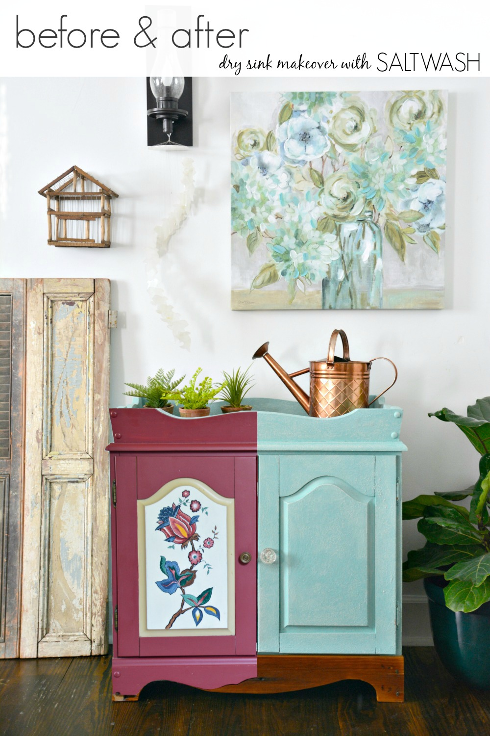 B&A-teal-saltwash-painted-dry-sink-DIY