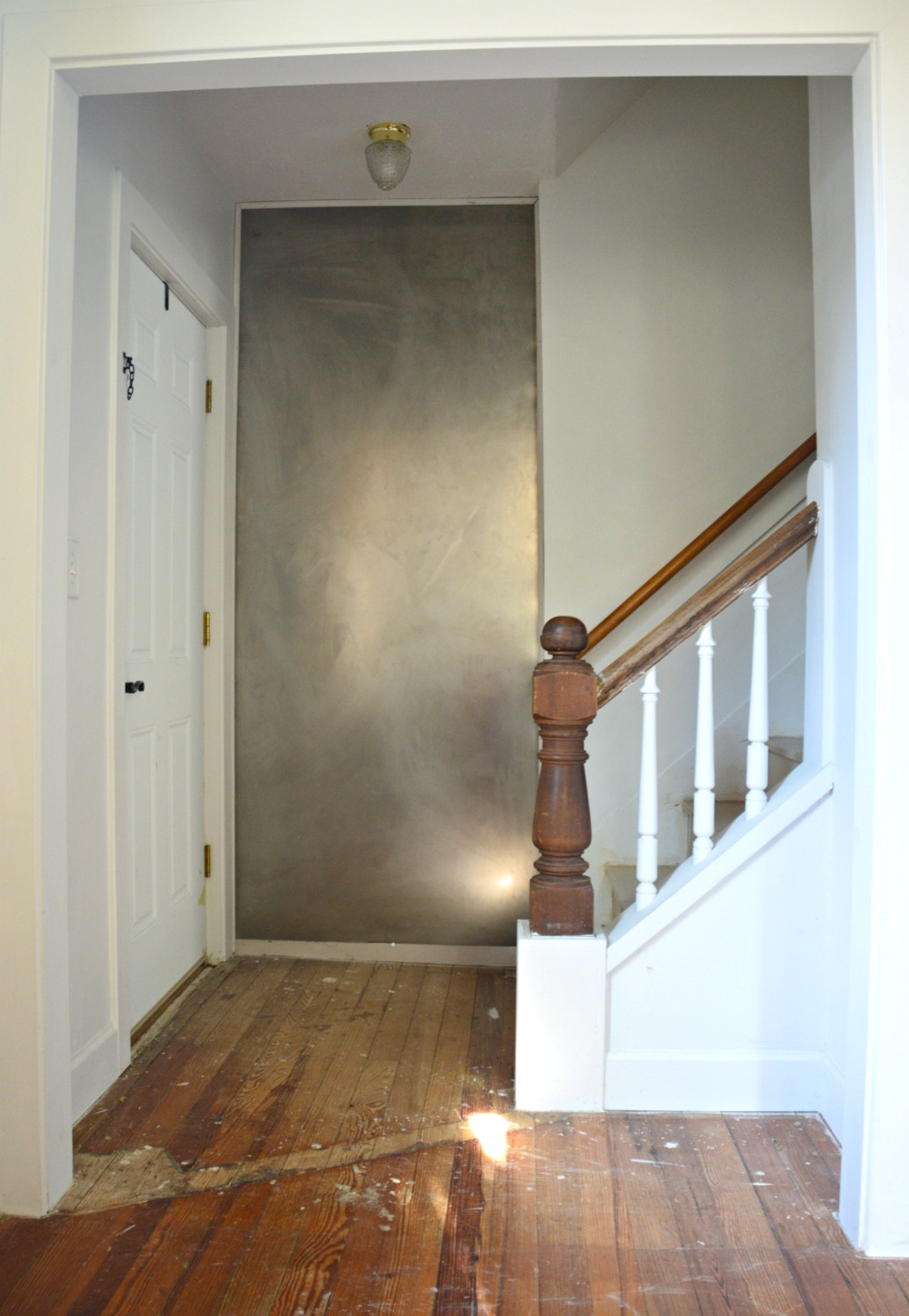 Eclectic Farmhouse Foyer Progress Sheet Metal Magnet
