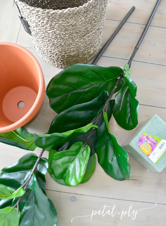 DIY-silk-fiddle-leaf-fig-supplies
