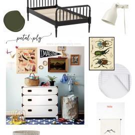Adventuring Entomologist Boys Bedroom | One Room Challenge™