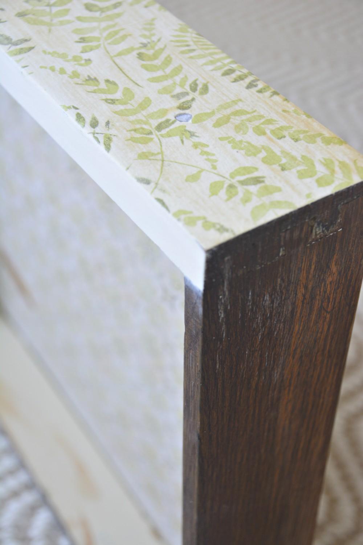 napkin-decoupaged-drawer