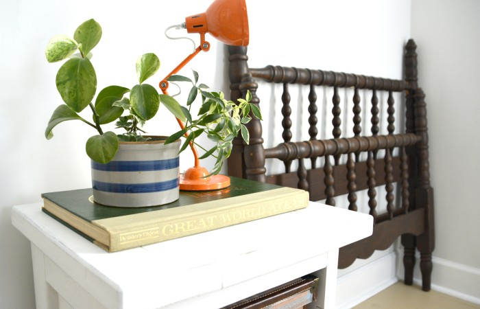 This End Up End Table Redo + My Must Know Milk Paint Tip