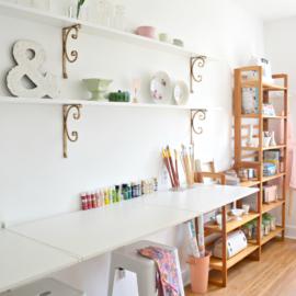 Garage Creative Studio & Pop-Up Shop Reveal | One Room Challenge™