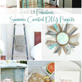 13 DIY Coastal Decor Projects to try this Summer