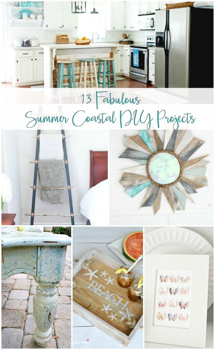 3 Home Decor Trends For Spring Brittany Stager: 13 DIY Coastal Decor Projects To Try This Summer